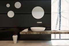 Pardoseala de sandstone pentru baie