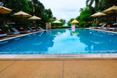 Pardoseala de sandstone pentru piscina